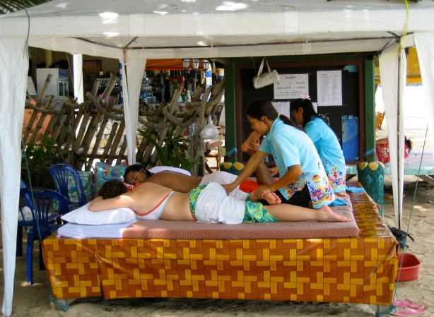 Massage on Lamai